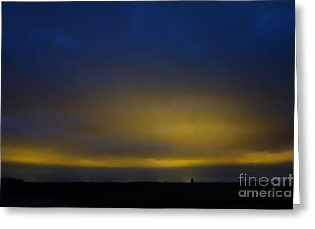 Kijkduin Sunset Greeting Card