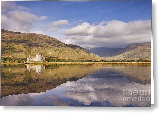 Kilchurn Castle And Loch Awe Greeting Card