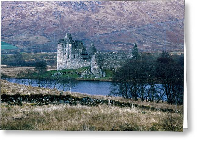 Kilchurn Castle, Scotland Greeting Card