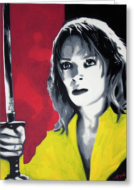 Kill Bill 2013 Greeting Card