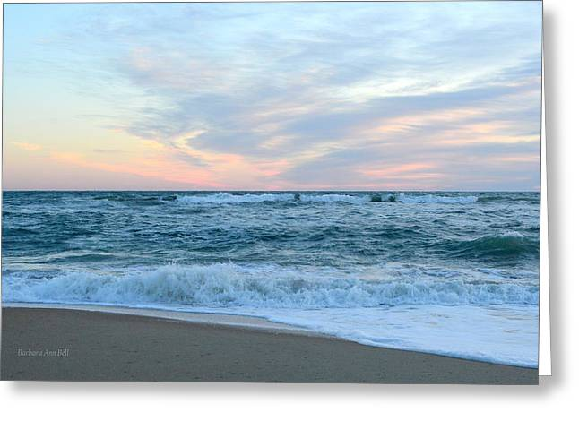 Greeting Card featuring the photograph Kill Devil Hills 11/24 by Barbara Ann Bell