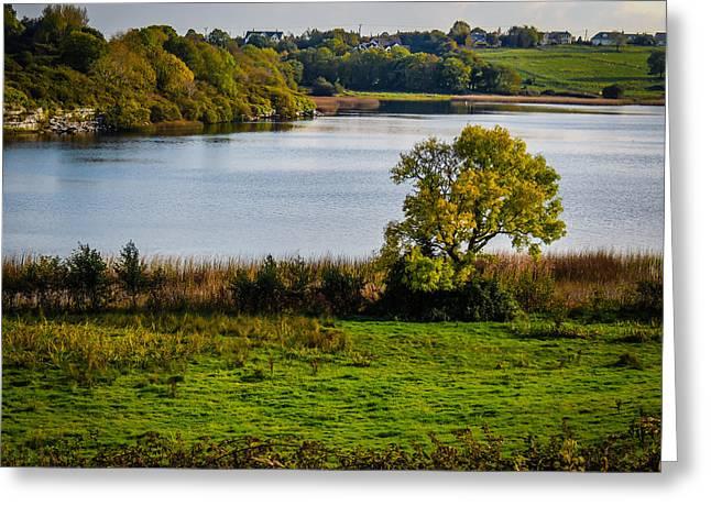 Killone Lake In County Clare, Ireland Greeting Card