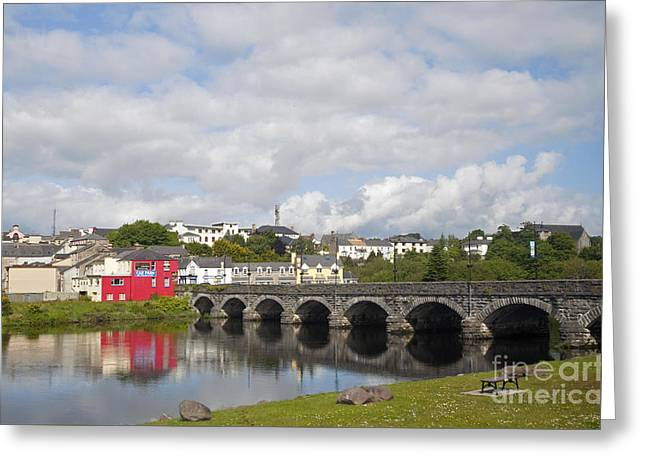 Killorglin Bridge Greeting Card