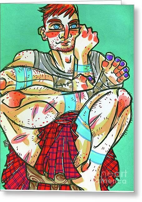 Kilt No Sporan Greeting Card