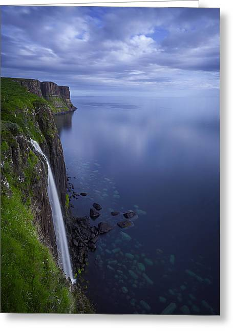Kilt Rock Greeting Card