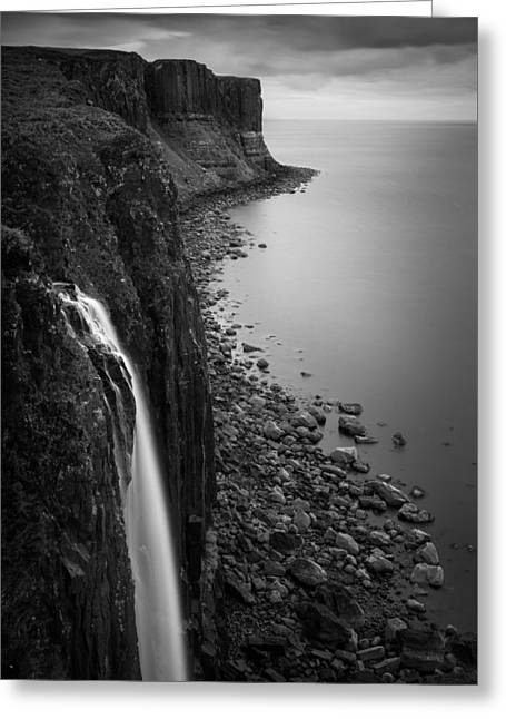 Kilt Rock Waterfall Greeting Card