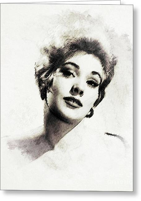 Kim Novak, Actress Greeting Card