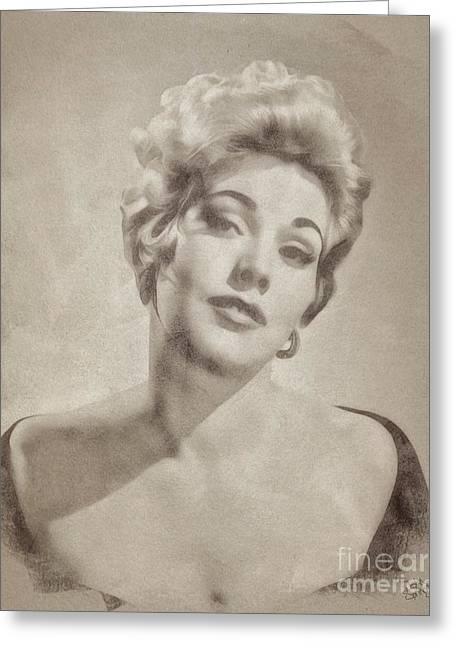 Kim Novak Hollywood Actress Greeting Card