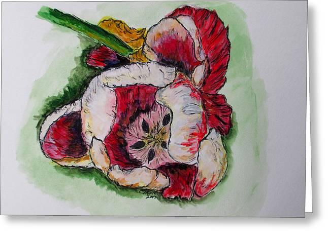 Kimberly's Flowers Greeting Card