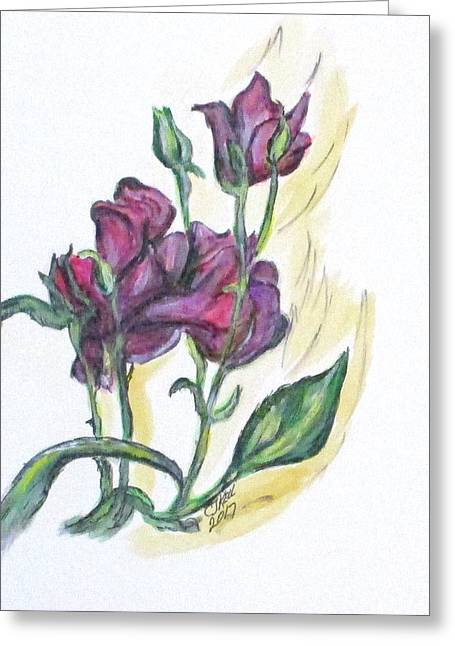 Kimberly's Spring Flower Greeting Card