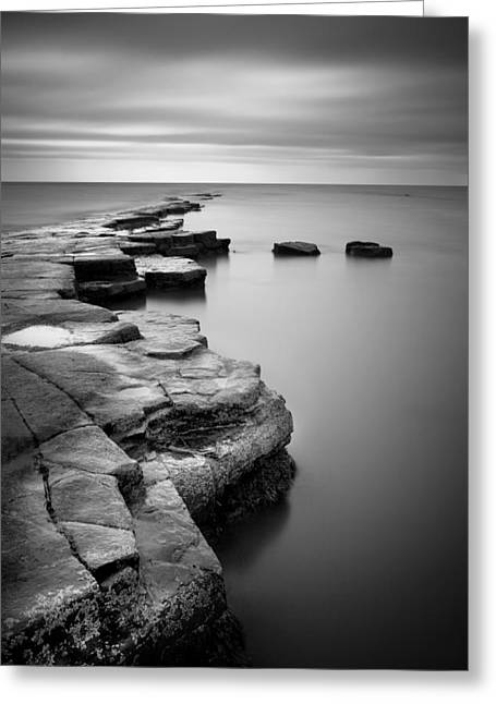Kimmeridge Bay II Greeting Card by Nina Papiorek