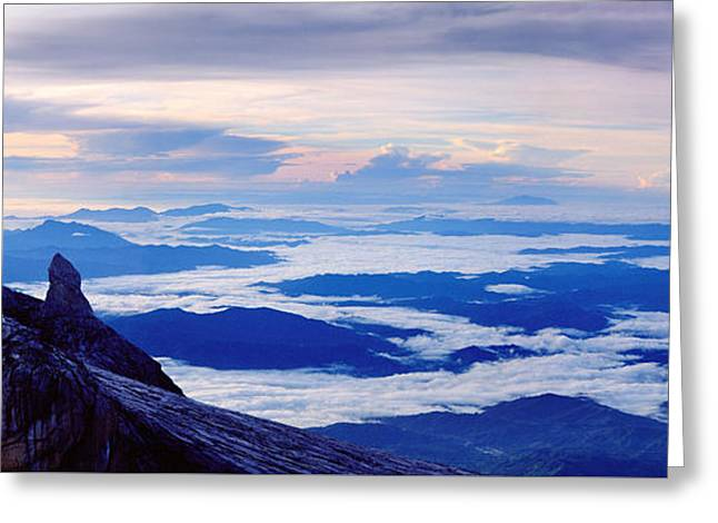 Kinabalu Panorama Greeting Card