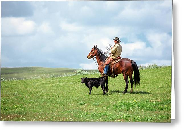 Kind And Gentle Greeting Card by Todd Klassy