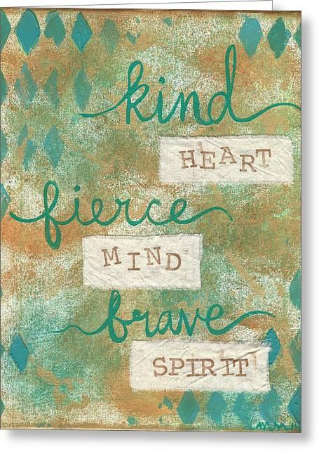Kind Heart Greeting Card