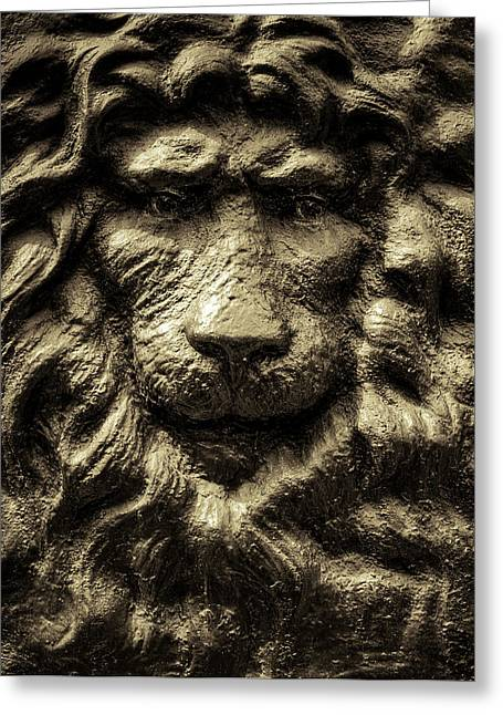 King Greeting Card by Andrew Kubica