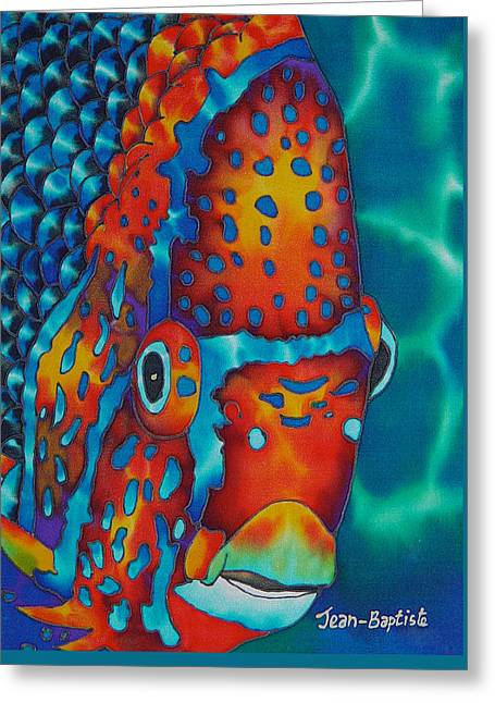 King Angelfish Greeting Card