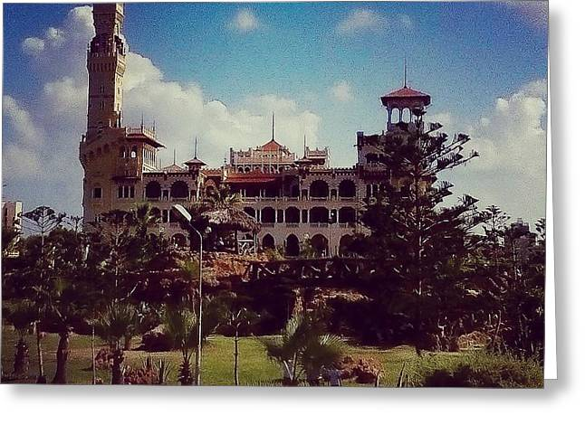 King Farouk Castle, Alexandria, Egypt Greeting Card