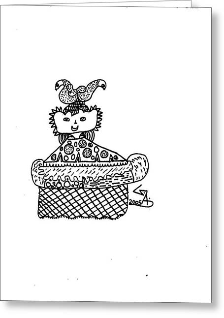 King Greeting Card by Gaurav Agrawal
