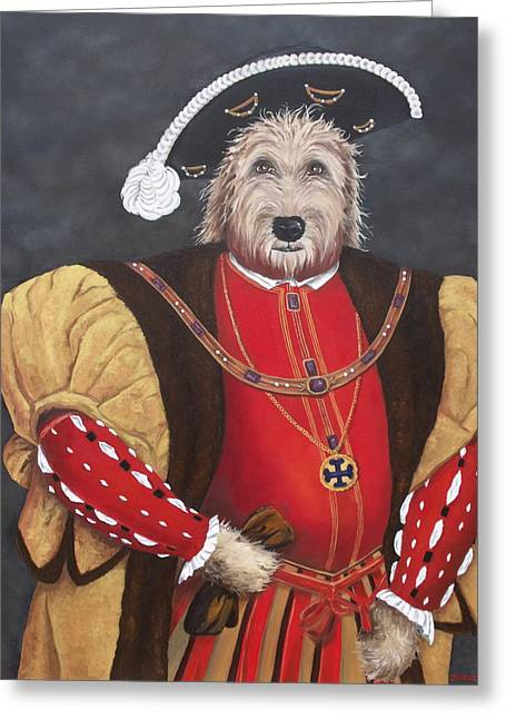 King Gunther The 8th Greeting Card