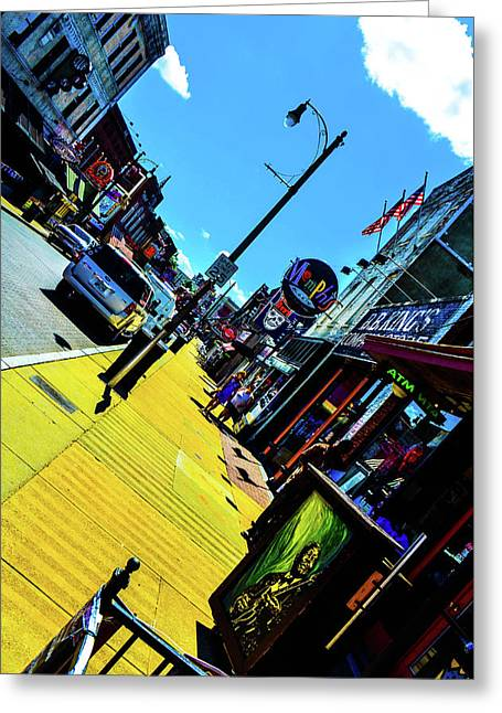 King Of Beale Greeting Card