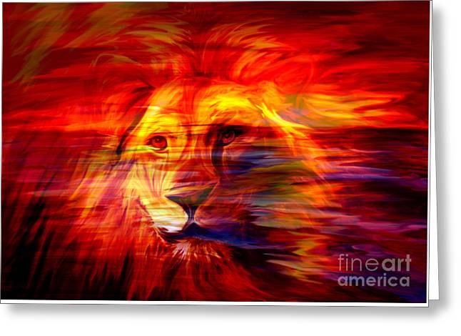 King Of Glory Greeting Card