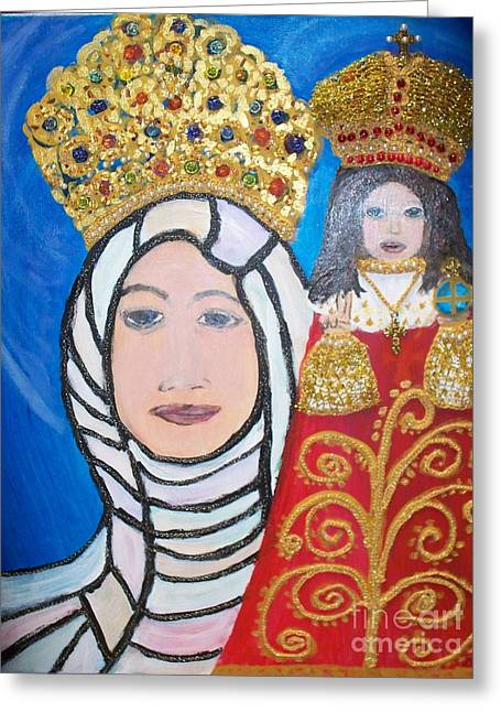 King Of Kings And The Queen Mother Greeting Card