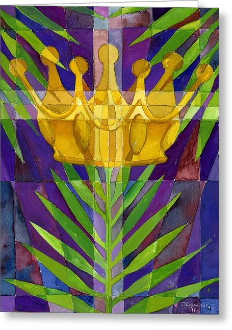 King Of Kings Greeting Card by Mark Jennings