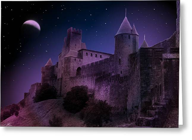 Greeting Card featuring the photograph King Of My Castle by Bernd Hau