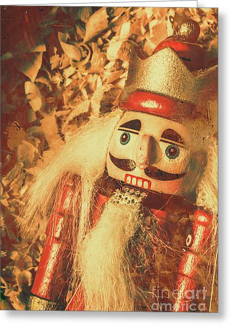 King Of The Toy Cabinet Greeting Card