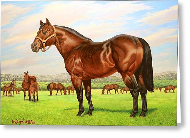 King P-234 No.two Greeting Card by Howard Dubois