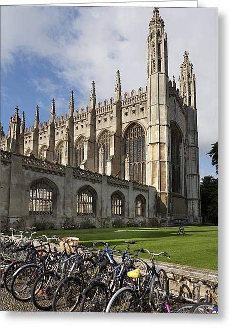 King S College  Cambridge, England Greeting Card