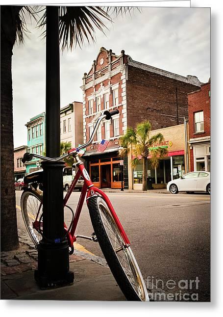 King Street Charleston Sc  -7436 Greeting Card