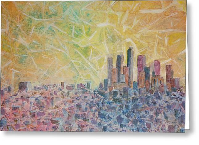 Kingdom Of Heaven Greeting Card by Arlissa Vaughn