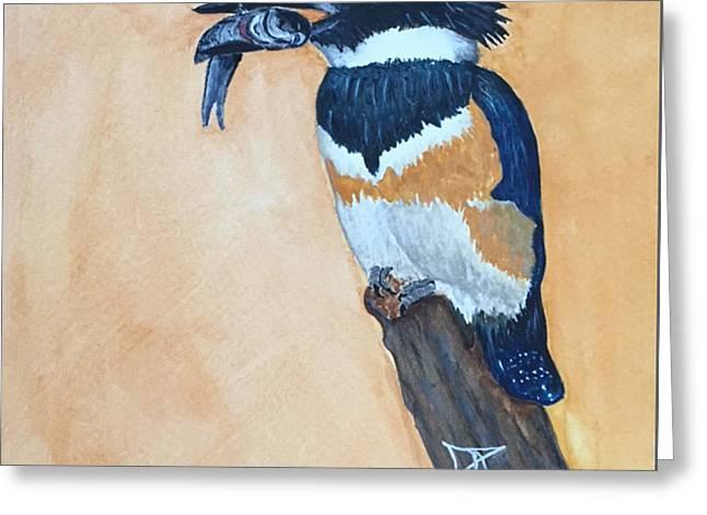 Kingfisher-2 Greeting Card