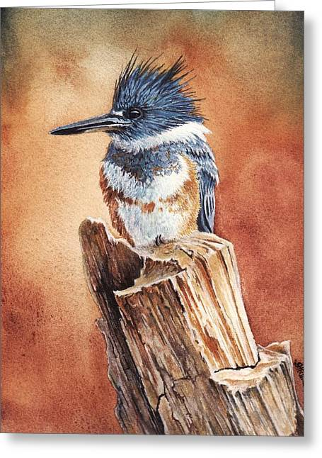 Kingfisher I Greeting Card