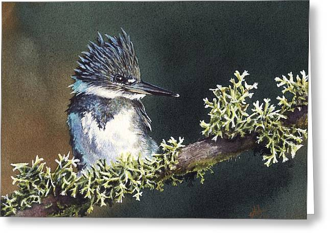 Kingfisher II Greeting Card