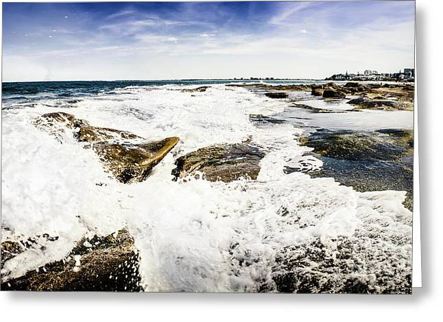 Kings Beach Seascape Greeting Card by Jorgo Photography - Wall Art Gallery