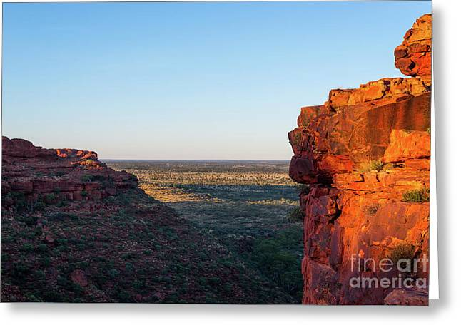 Kings Canyon Greeting Card by Andrew Michael
