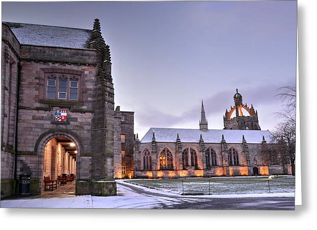 King's College - University Of Aberdeen Greeting Card