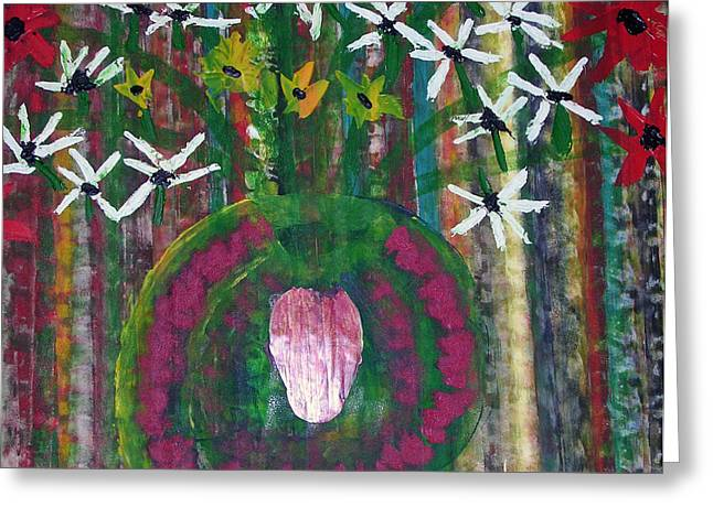 Kings Flowers Greeting Card by Russell Simmons