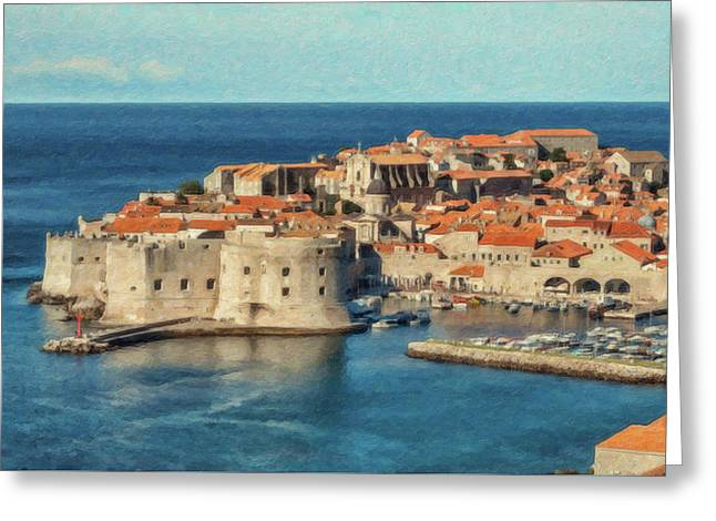 Kings Landing Dubrovnik Croatia - Dwp512798 Greeting Card