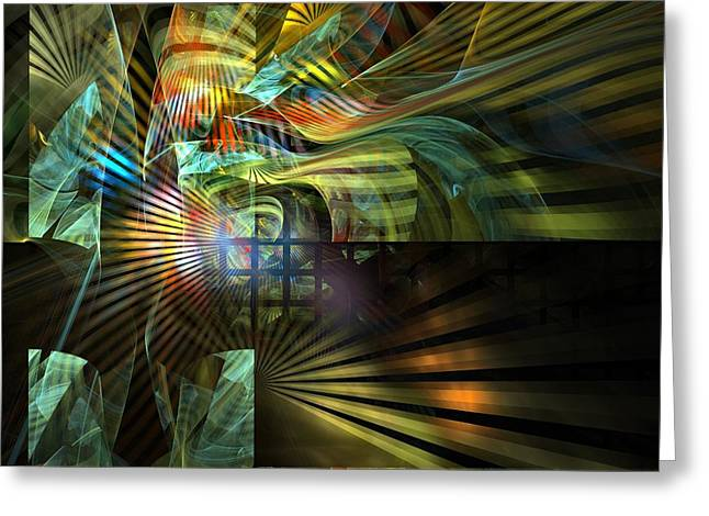 Greeting Card featuring the digital art Kings Ransom by NirvanaBlues
