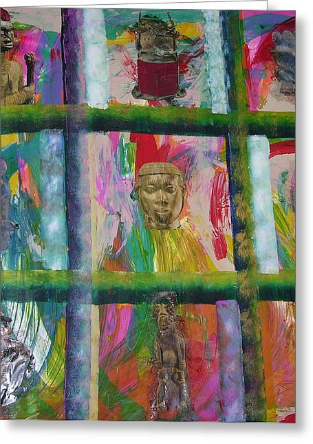 Russell Simmons Greeting Cards - Kings Row Greeting Card by Russell Simmons