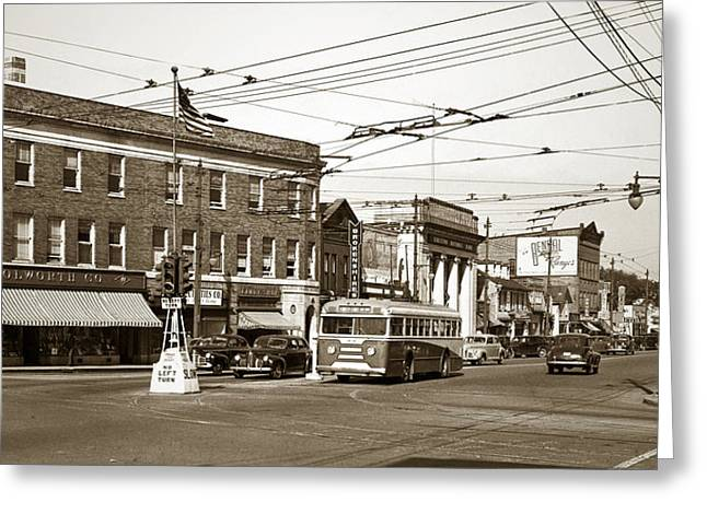 Kingston Corners Kingston Pa Early 1950s Greeting Card