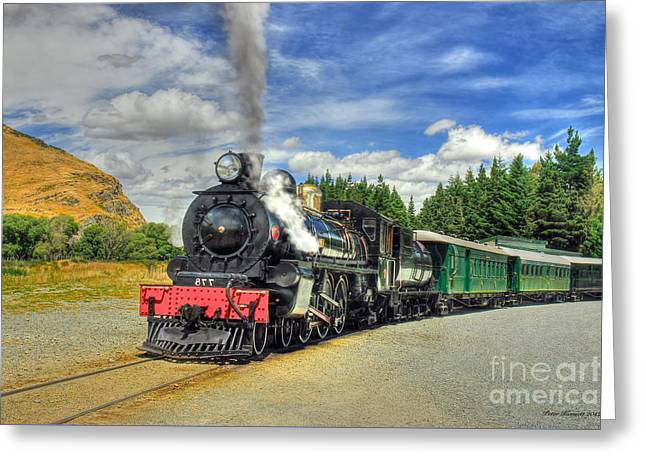 Kingston Flyer Greeting Card