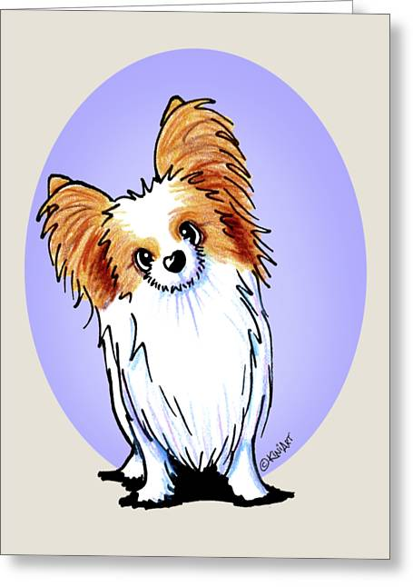 Kiniart Papillon Greeting Card