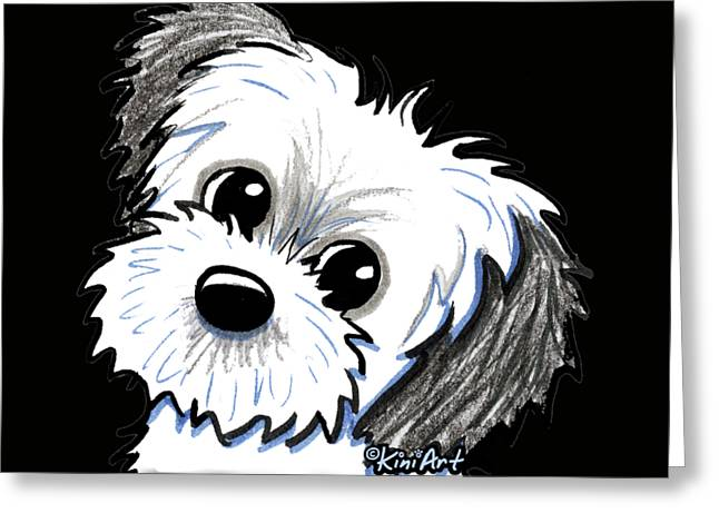 Kiniart Shih Tzu Cutie Greeting Card