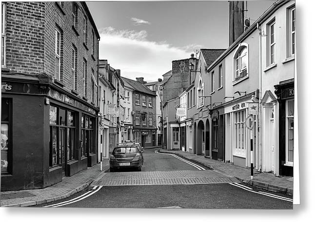 Kinsale Side Street Greeting Card