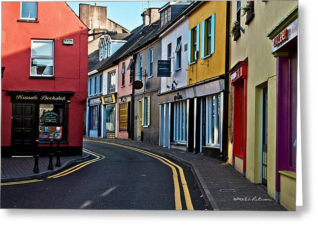 Kinsale Street Greeting Card