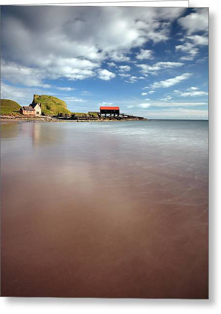 Kintyre Beach Greeting Card
